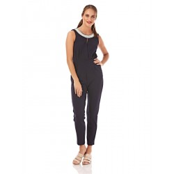 Mela London Pearl Neck Jumpsuit