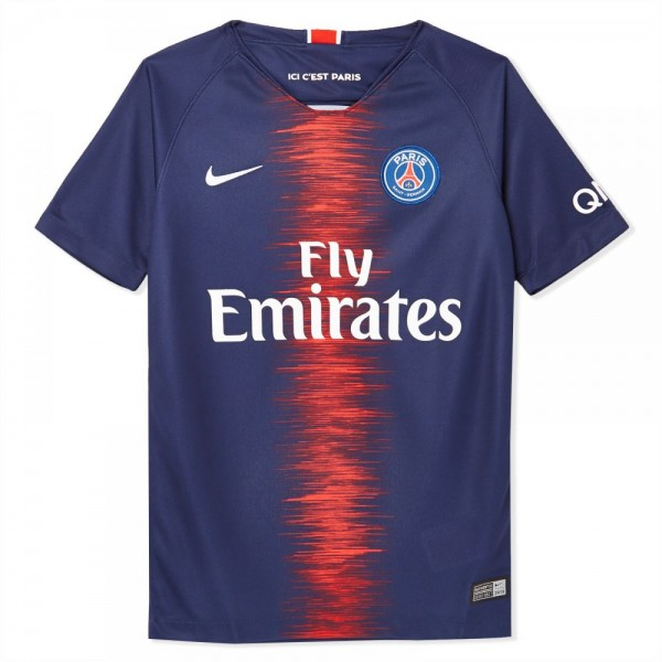 Nike PSG Football Breathe Stadium Jersey SS Home For Kids