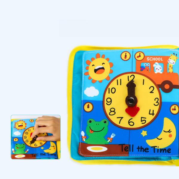 Soft book for children 3 months-3 years